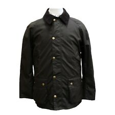 Barbour Ashby Wax Jacket in Olive - XL