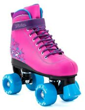 SFR - Vision II bambini Quad Skate - Rosa / BLU- Junior Quad Pattini a rotelle