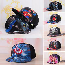 The Avengers cappello baseball bambini Supereroe Spiderman Snapback da sole