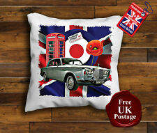 Rolls Royce Silver Shadow Cushion Cover, Rolls Royce, Union Jack, Mod, Target,