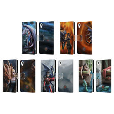 OFFICIAL ANNE STOKES DRAGON FRIENDSHIP 2 LEATHER BOOK CASE FOR SONY PHONES 1