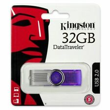 Kingston datos Viajero Memoria USB 2.0 MEMORIA USB PEN DRIVE 8 / 16/32gb