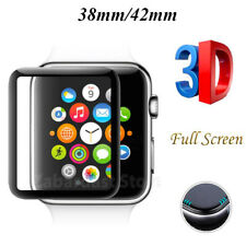 3D Tempered Glass Screen Protector Watch Full Covered  Apple iWatch 38mm 42mmn