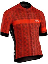 Northwave Red-Black 2018 Blade Air 3 Short Sleeved Cycling Jersey