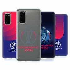 OFFICIAL ICC CWC 2019 CRICKET WORLD CUP SOFT GEL CASE FOR SAMSUNG PHONES 1