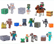 Minecraft Action Figure Up to Series 4 -  Steve Evoker Stray Computer Game Toys