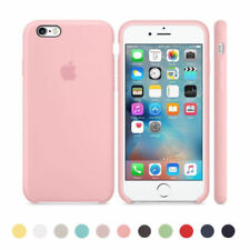 Original Ultra Suave Funda de silicona Funda para Apple iPhone 8 7 6 6s Plus