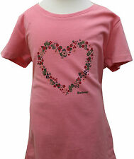 GIRLS BARBOUR Ely Tee Shirt in Pink (Age 10/11)