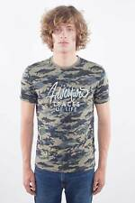 NAPAPIJRI Uomo - T-Shirt in jersey camouflage con stampa