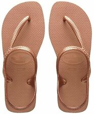 INFRADITO HAVAIANAS FLASH URBAN, ORO ROSA, ESTATE 2018, MARE, PISCINA, DONNA