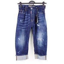 DSQUARED2 Dsquared Jeans Pantaloni Donna Big Brother 36 40 GIAPPONESE NP 489