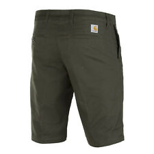 CARHARTT SID Chino Short Cypress OLIVE coupe slim homme Short / bermuda