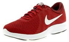 Nike Mens Revolution 4 Trainers, Nike Revolution Running Shoes - Red -  6-14