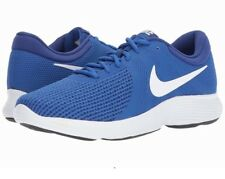 Nike Mens Revolution 4 Trainers, Nike Revolution Running Shoes - Royal -  6-14
