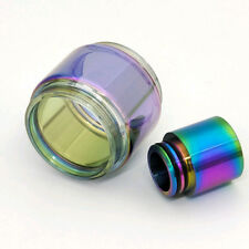 1Pc 8ml Extended Replacement Bulb Glass / Rainbow Drip Tip For TFV12 Prince Tank