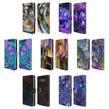 OFFICIAL HAROULITA ABSTRACT GLITCH LEATHER BOOK WALLET CASE FOR SAMSUNG PHONES 2