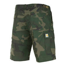 CARHARTT AVIATION CARGO SHORT camouflage homme Ripstop bermuda coupe slim