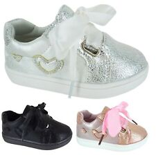 INFANTS KIDS GIRLS SUMMER CHILDRENS TRAINERS RUNNING HOLIDAY GLITTER SHOES SIZE