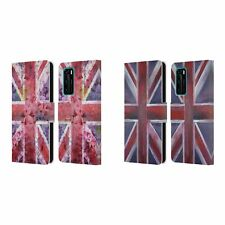 OFFICIAL MAGDALENA HRISTOVA UNION JACK LEATHER BOOK CASE FOR HUAWEI PHONES