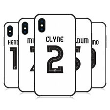 LIVERPOOL FC LFC GIOCATORI AWAY KIT 17/18 1 MATTE BLACK CASE PER APPLE iPHONE