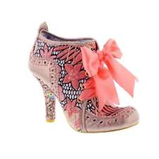 Irregular Choice Abigail's Third Party - Gold Floral (Pink) Womens Boot