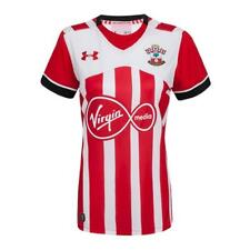 Southampton FC Womens Football Shirt Under Armour Home red white Jersey 2016-17