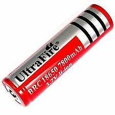 18650 Battery 3.7V Rechargeable Li-ion with 7800 mah# 100% Original Branded