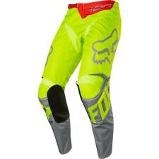Pantaloni cross | enduro FOX 180 Race giallo fluo| grigio