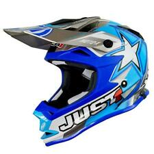 Casco Cross | Enduro JUST1 J32 Junior Moto X blue