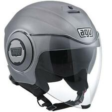 Casco Demi-Jet AGV FLUID SOLID matt grey