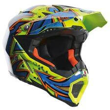 Casco Cross | Enduro AGV AX8 EVO MULTI SPRAY YELLOW | BLUE | ORANGE