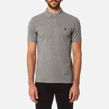 Polo Ralph Lauren Men's Custom Fit Short Sleeve Polo Shirt - Canterbury Heather