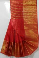 Madame Wide Zari Brocade & All Over Booti Saree