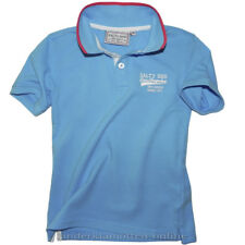 Salty Dog Poloshirt Aquarius Blue