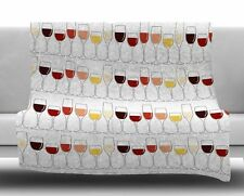 East Urban Home Fine Wines Fleece Blanket