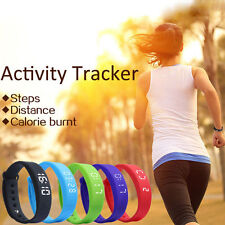 Activity Tracker Pedometer Fitness Watch Band For Kids Christmas Xmas Gift