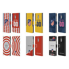 CUSTOMISED ATLETICO MADRID 2017/18 LEATHER BOOK CASE FOR MICROSOFT NOKIA PHONES