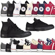 Converse Unisex Chuck Taylor Classic Colour All Star Hi Lo Tops Size Trainers