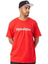 Troy Lee Designs Red Signature T-Shirt