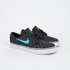 Nike SB - KIDS Stefan Janoski Premium Canvas Shoes (GS) - Anthracite / Clearwate