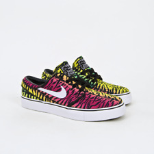 Nike SB - Stefan Janoski Shoes - Canvas Volt / White / Turbo Green