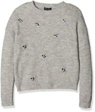 New Look Jump All Over Emb Jumper, Maglione Bambina - NUOVO