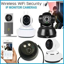 Wireless IP Camera Home Security Baby Monitor Clever Dog CCTV CAM Night Vision