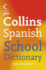 Collins gem: Collins Spanish school dictionary by Maree Airlie (Paperback /