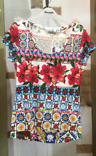 Desigual 18swtk31 SO 2018 Maglia TS Monique Carmin TGL XS - XXL