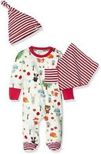 Lilly and Sid Forest Friends Playsuit, Hat Bib, Set Bimba - NUOVO