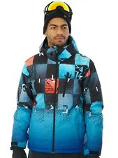 Quiksilver Chakalapaki Gradient Blue Mission Plus Mountain Exclusive Snowboardin
