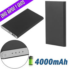 Bateria Externa Para Movil Power Bank Portatil 4000/8000/12000mAh Cargador USB