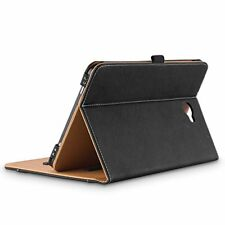 Leather Case Samsung Galaxy Stand Folio Cover Document Card Pocket Pencil Holder
