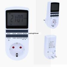 LCD Display Programmable Digital Timer Switch Socket Digital Timer ILOE